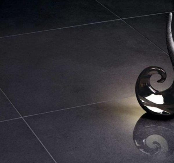 Kolekce Neutro interiér tmavě šedá dlažba 59,7×59,7