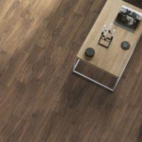 Kolekce Rancho imitace dřeva obývací pokoj Dark Brown