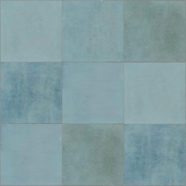Dlažba Atelier Retro 13,8×13,8 turquoise