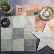 Dlažba Atelier Retro 13,8×13,8 vert emeraude4