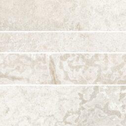 Dlažba Climb bianco 30x60 mat mozaika FHCL1036