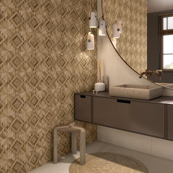 Komi koupelna Berbak-R 20×20