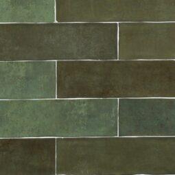 Obklad Atelier 6,2x25 vert emeraude
