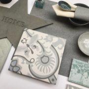 Obklad Atelier Retro 10×10 vert d´eau