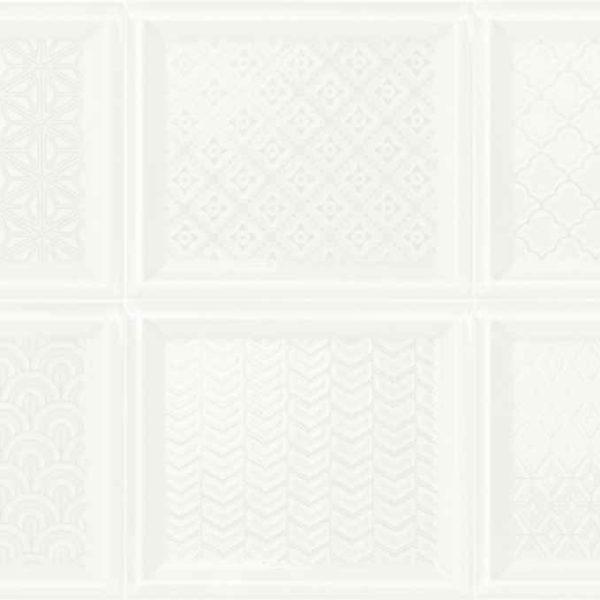 Obklad Madison Decoc White 12×14