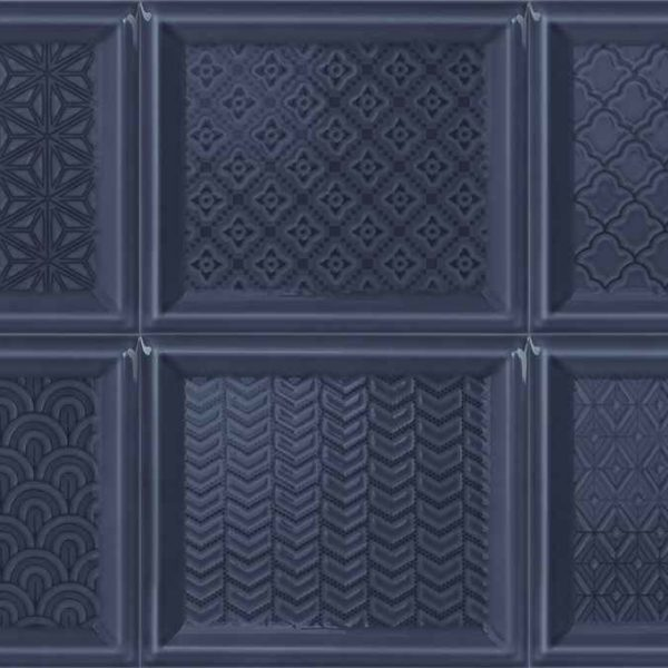 Obklad Madison Decor Blue Navy 12×14