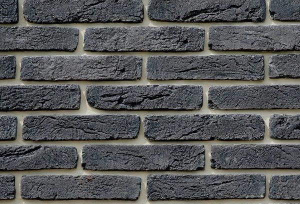 Obklad cihlové lícové pásky Cihla tmavě šedá (7515)