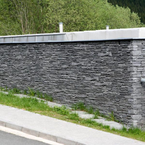 Obklad umělý kámen 20×50 Shale šedý