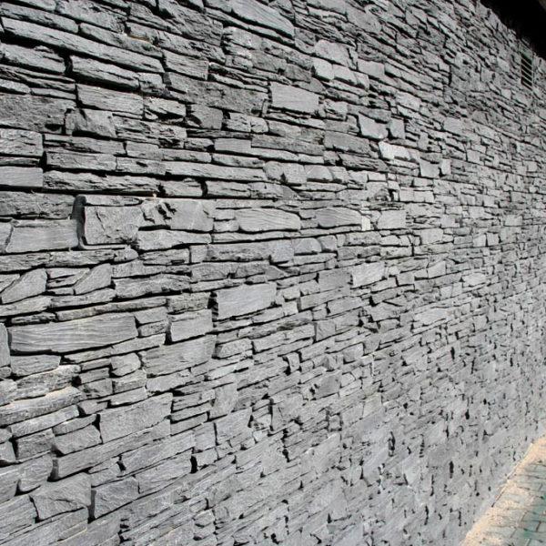 Obklad umělý kámen 20×50 Shale šedý3