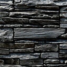 Obklad umělý kámen Tvd štípaná břidlice 20x50 Gabro