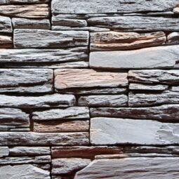 Obklad umělý kámen Tvd štípaná břidlice 20x50 Nevada