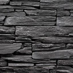 Obklad umělý kámen Tvd štípaná břidlice 20x50 Shale šedý