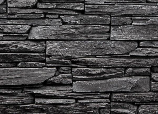 Obklad umělý kámen Tvd štípaná břidlice 20×50 Shale šedý