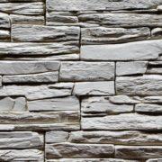 Obklad umělý kámen Tvd štípaná břidlice 20×50 Shale bílý