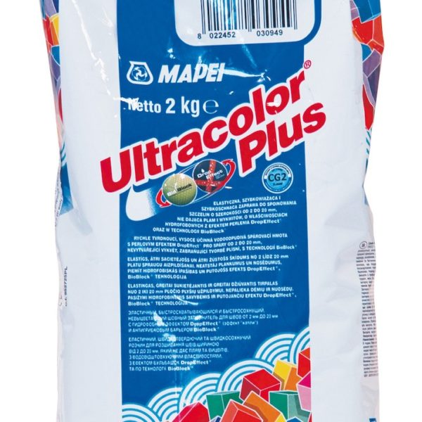Spárovací hmota Mapei Ultracolor Plus manhattan 2 kg MAPU2110