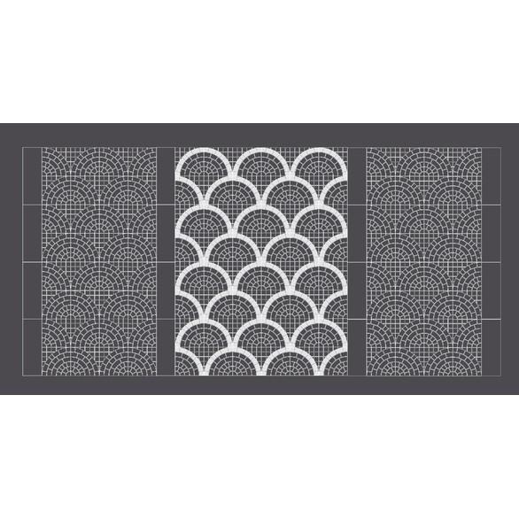 Valeria 2.0 dlažba 60,5×60,5 grigio arco bianco4