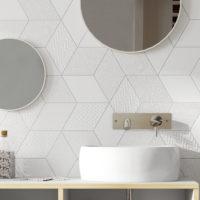Obklad Rhombus wall koupelna 3
