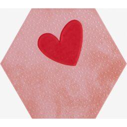 Dekor Agatha 21 Corazon Rojo mat