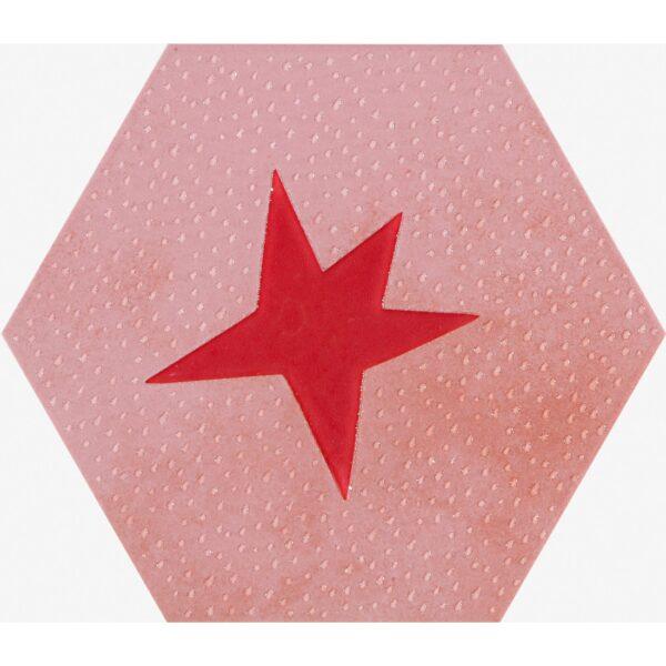 Dekor Agatha 21 Estrella Rojo mat