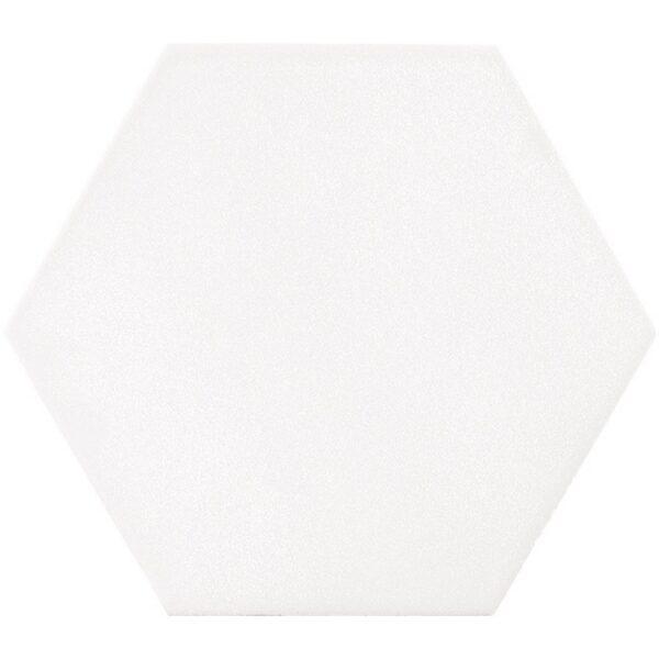Dlažba EBS Mayfair Blanco Hexagon mat