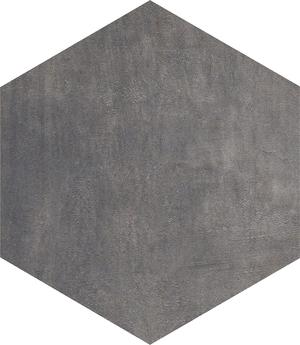 Dlažba Icon Jet black hexagon