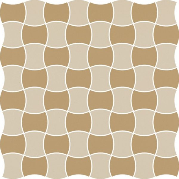 Dlažba Modernizm Bianco mix C 30,86×30,86
