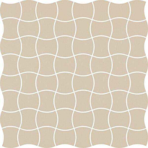 Dlažba Modernizm Bianco mozaika 30,86×30,86