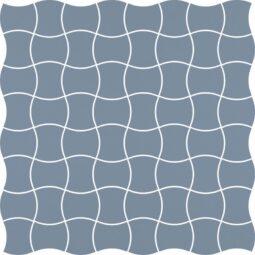 Dlažba Modernizm Blue Mozaika 30,86x30,86