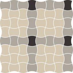 Dlažba Modernizm Grys mozaika mix A 30,86x30,86
