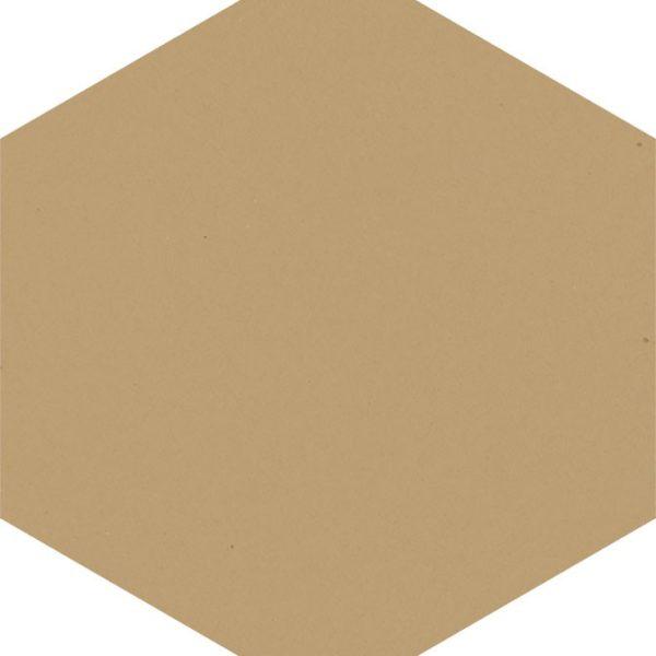 Dlažba Modernizm Ochra hexagon 19,8×17,1