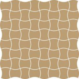 Dlažba Modernizm Ochra mozaika 30,86x30,86