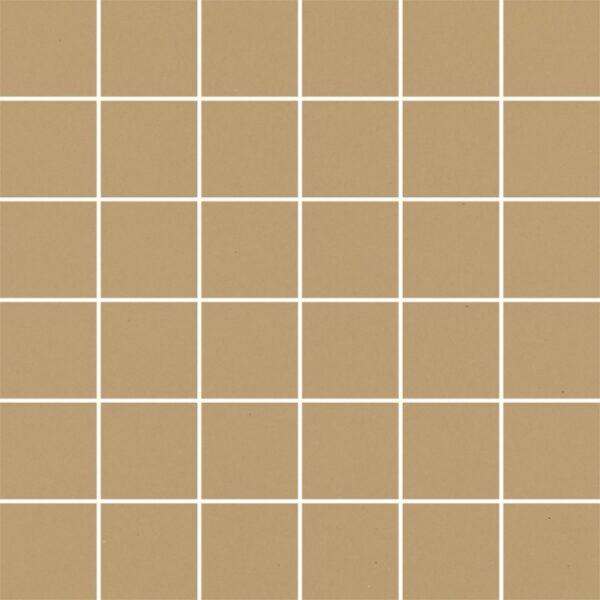 Dlažba Modernizm Ochra mozaika 29,8×29,8