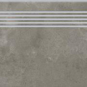 Dlažba Quenos grey schodovka 30×120