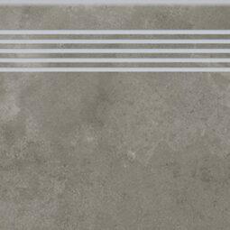 Dlažba Quenos grey schodovka 30x120