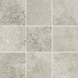Dlažba Quenos light grey mozaika 30x30