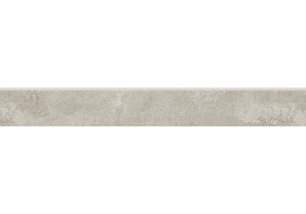 Dlažba Quenos light grey sokl 7×60