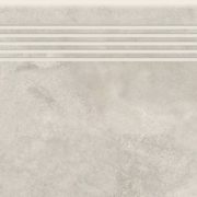 Dlažba Quenos white schodovka 30×120