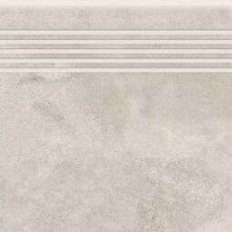 Dlažba Quenos white schodovka 30x120