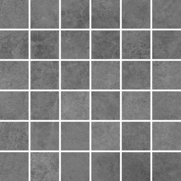 Dlažba Tacoma Grey rekt. mat. Mozaika 30×30