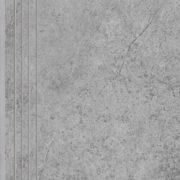 Dlažba Tacoma Silver rekt. mat. Schodovka 120×30