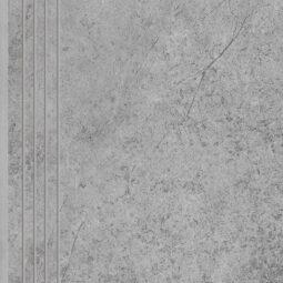 Dlažba Tacoma Silver rekt. mat. Schodovka 120x30