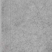 Dlažba Tacoma Silver rekt. mat. Schodovka 60×30