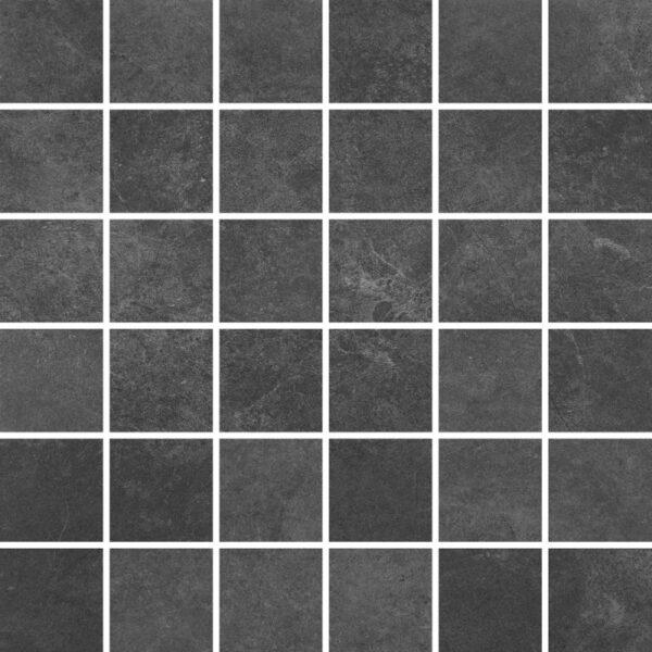 Dlažba Tacoma Steel rekt. mat. Mozaika 30×30
