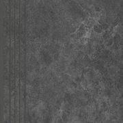 Dlažba Tacoma Steel rekt. mat. Schodovka 120×30