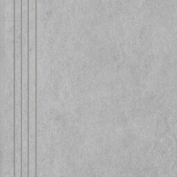 Dlažba Tacoma White rekt. mat. Schodovka 60x30