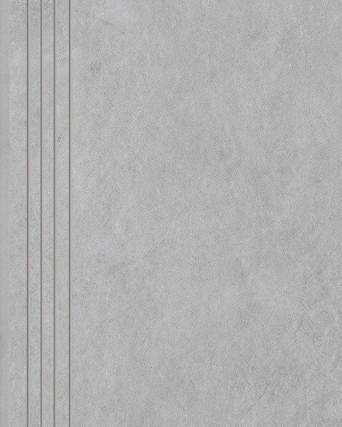 Dlažba Tacoma White rekt. mat. Schodovka 60×30