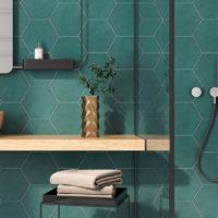 Hexagon dlažba Mayfair koupelna3