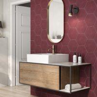 Hexagon dlažba Mayfair koupelna4