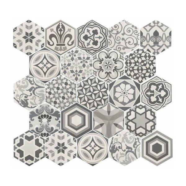 Hexatile Harmony BW 17,5×20