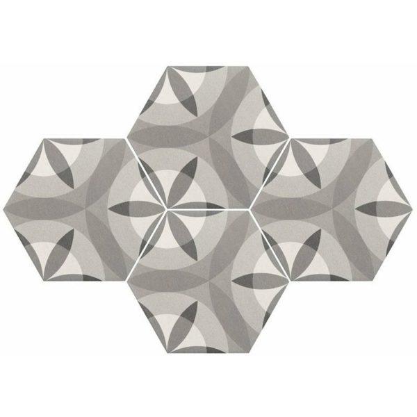 Hexatile Nature B&W 17,5x20_2